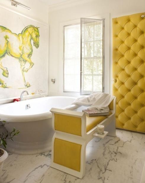 salle de bain équestre