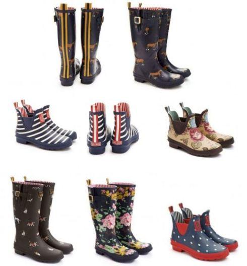 Bottes et Boots collention été 2013 Tom joule