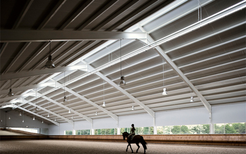 Equestrian Center by Francisco Mangado