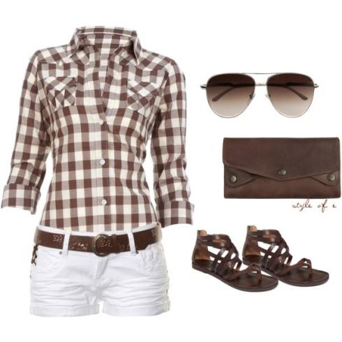 Cowgirl en été